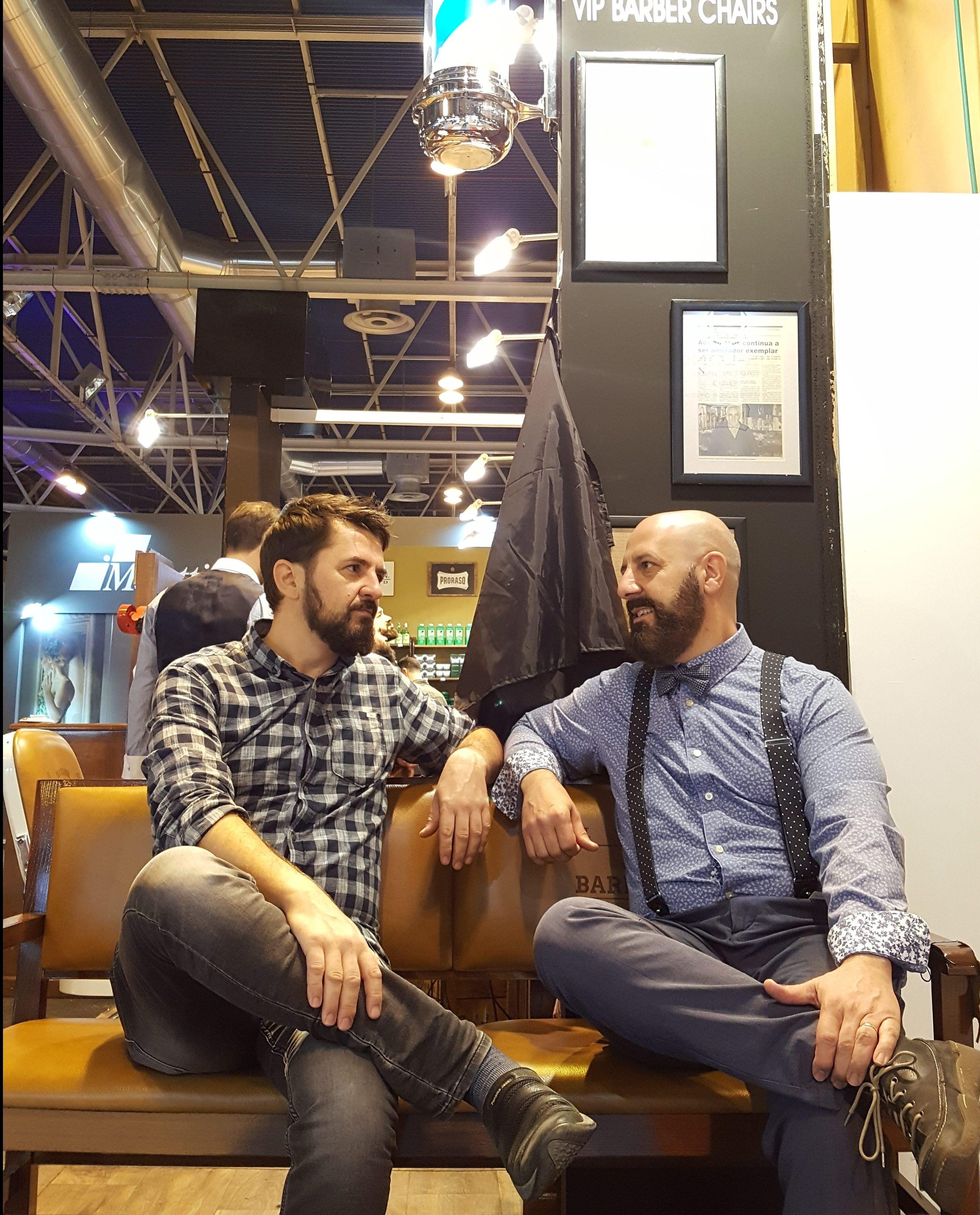 Salón Look 2017. Destino de barbudos exigentes con su imagen.