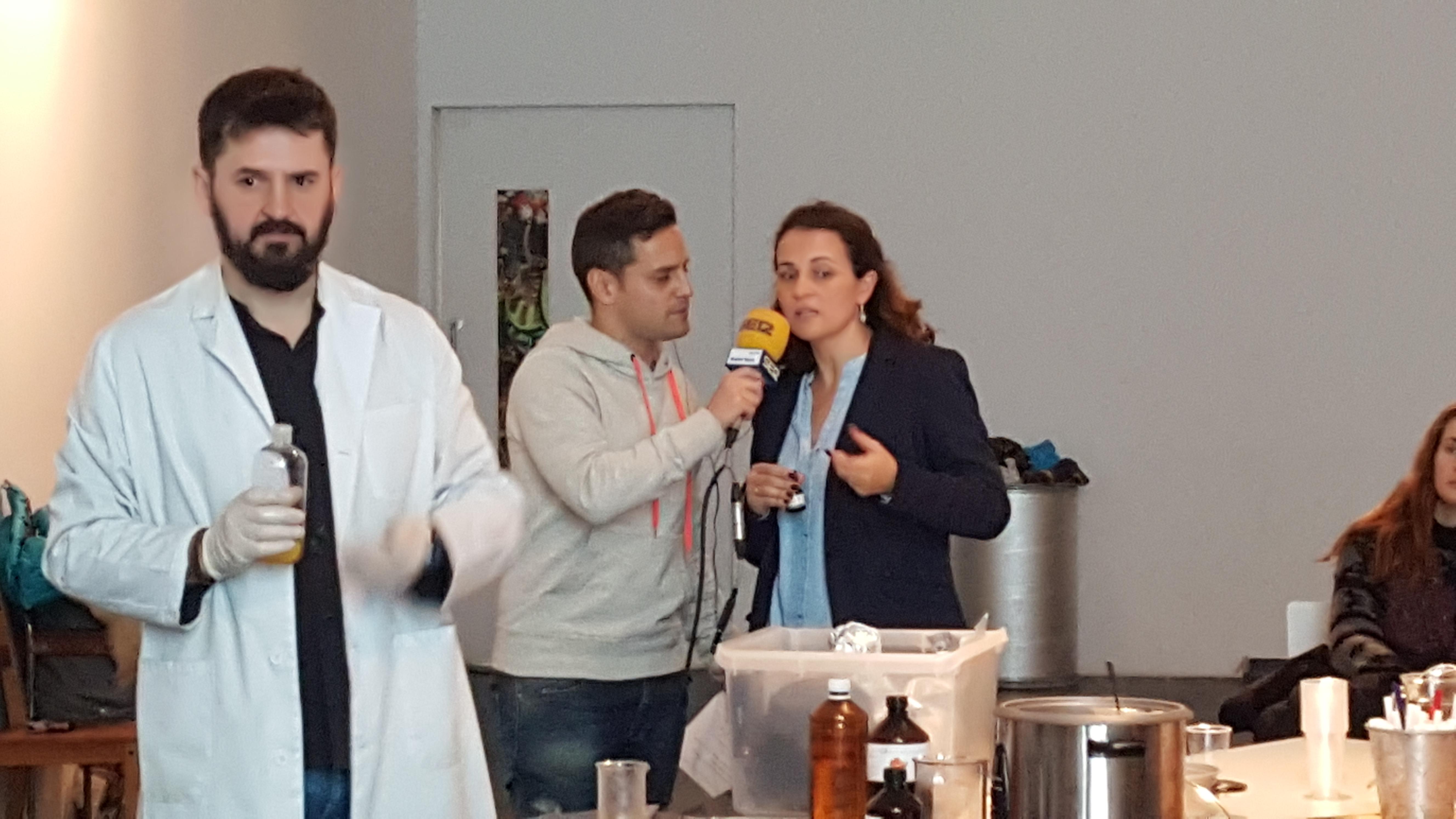 entrevista radio SER aventuracosmetica taller cosmetica natural
