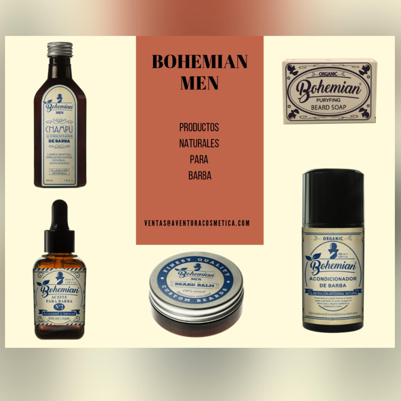 bohemia men barba aventuracosmética
